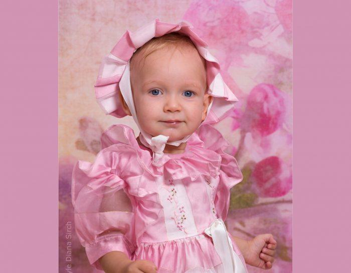 Nochmal rosa, dieses Mal mit Sofia :-)