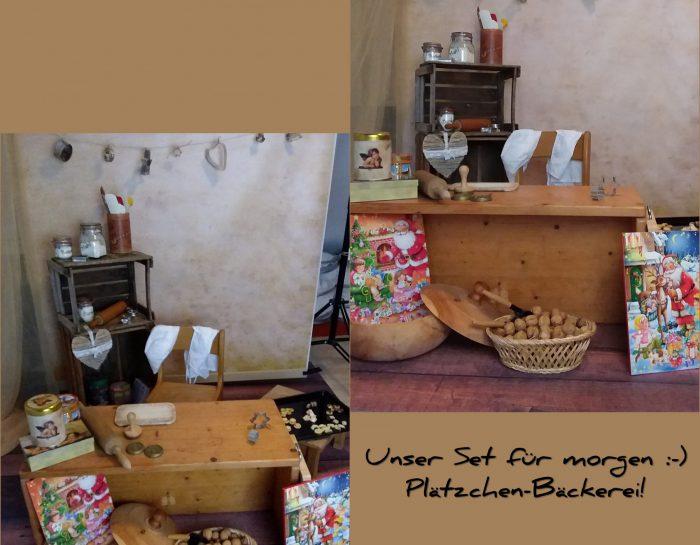 Set: Plätzchen-Bäckerei