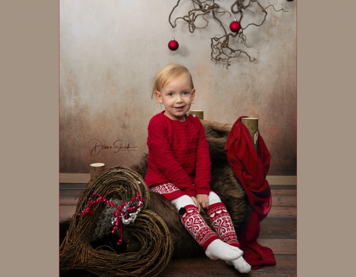 Weihnachts-Shooting mit Sofia