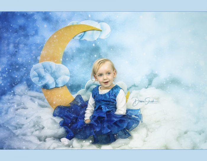 Sofia und der Mond :-)