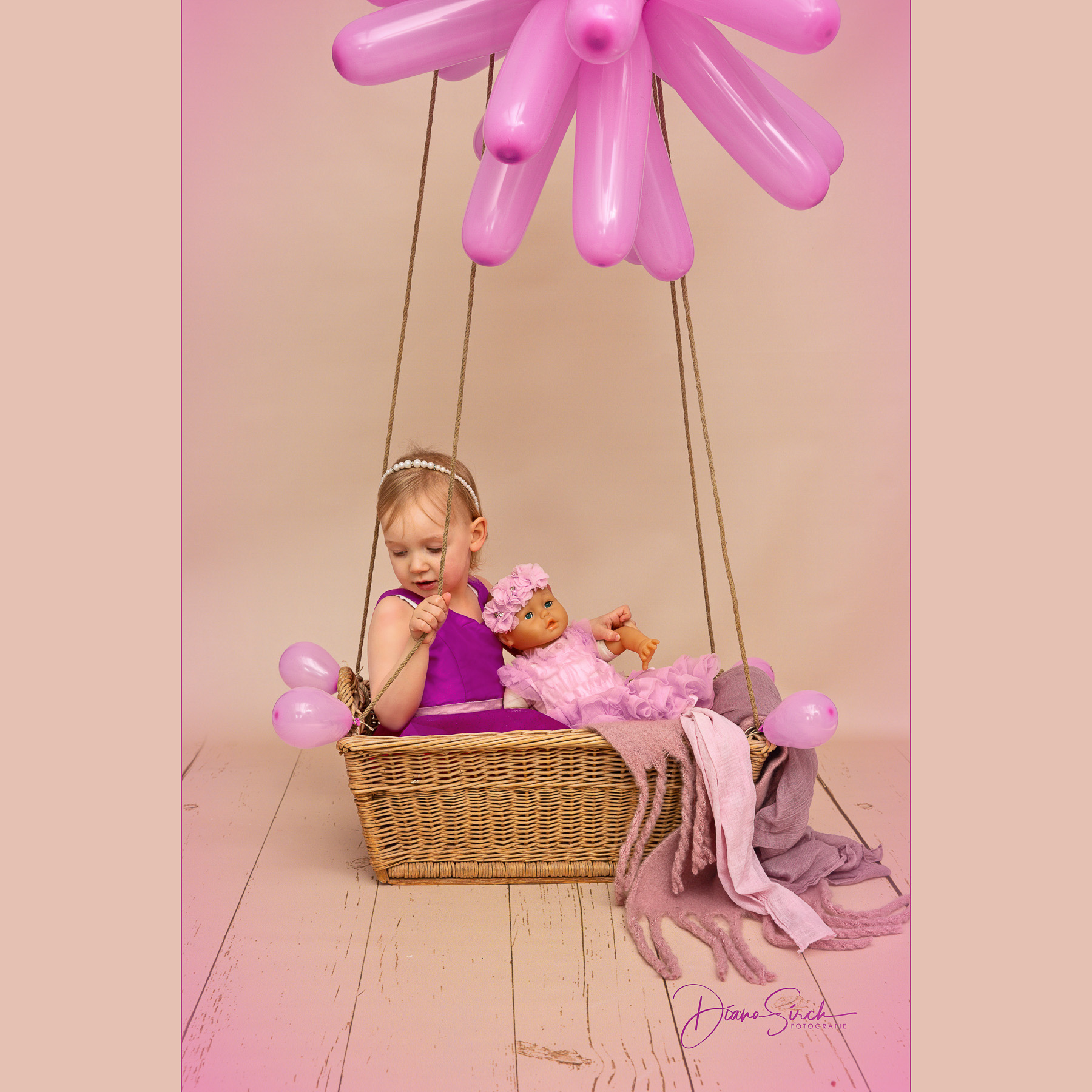 Balloonfliegen mit Sofia