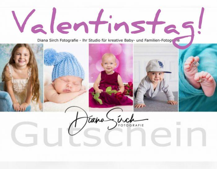 Verschenken Sie einen Gutschein zum Valentinstag!!!