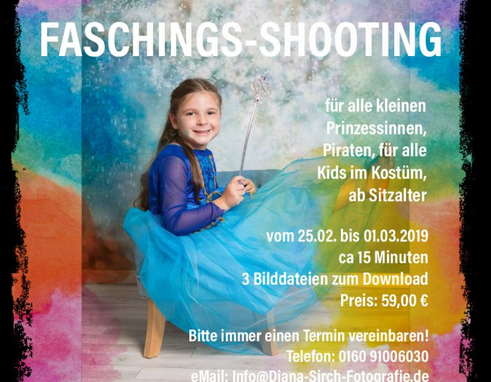 Mini-Faschings-Shooting